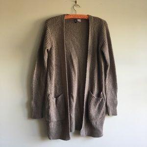 H&M Wool/Mohair Blend Long Cardigan